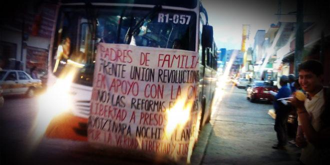 """Chiapas: """"No iniciaremos ciclo escolar si no se derroca la reforma"""" Madres y padres de familia"""