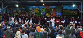 Con danza, teatro y poesía, zapatistas muestran su lucha y resistencia, en el CompArte en Oventic