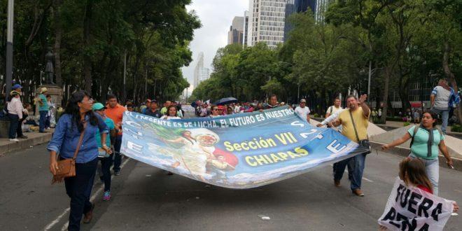 """""""Cerrazón e incapacidad"""" del Estado mexicano, acusa la CNTE tras reunión en Segob"""