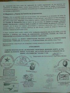 COMUNICADO LUZ Y FUERZA DE PUEBLO CNTE AGOSTO 2016