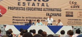 Foro Propuestas Educativas Alternativas en Chiapas. sep 2016