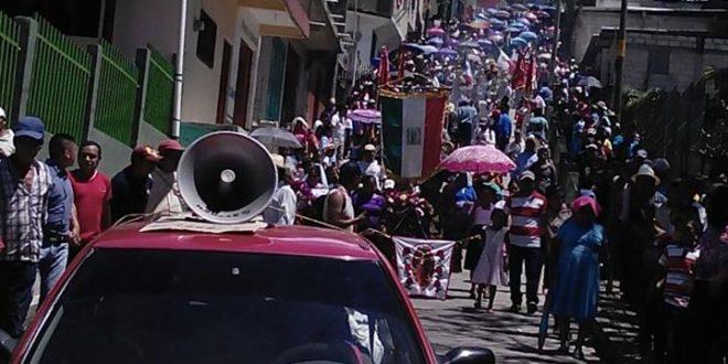 Festejo de la autonomía ejidal de Tila, Chiapas