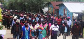 """""""Despertar una gran fuerza"""", convocan CNI y EZLN, tras quinto Congreso Nacional Indígena."""
