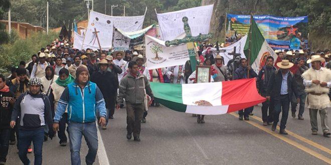 """Chiapas: """"El final de esta megaperegrinación es solo el inicio de nuestra lucha"""", MODEVITE"""
