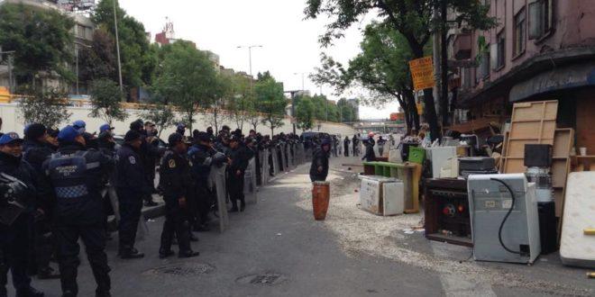 Cd de México: Espacio cultural Chanti Ollin, tras violento desalojo, alerta sobre posible demolición