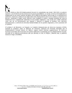BOLETIN FRAYBA BANAVIL DICIEMBRE 2015