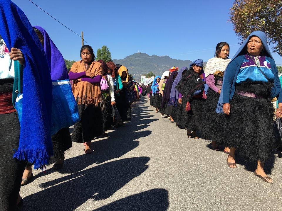 """Como Zedillo, Rosa Pérez cumple patrón de guerra de contrainsurgencia"", Abejas de Acteal, Chenalhó Chiapas"