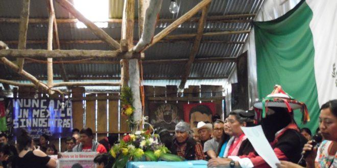 """CNI_CIG EZLN: """"reconstruiremos el mundo antiguo, el del presente y el del futuro"""", ante """"guerra narco paramilitar capitalista"""""""