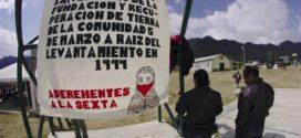 """Decidimos decir ¡Ya Basta!"", tseltales, tsotsiles, choles de comunidad 5 de Marzo, SCLC."