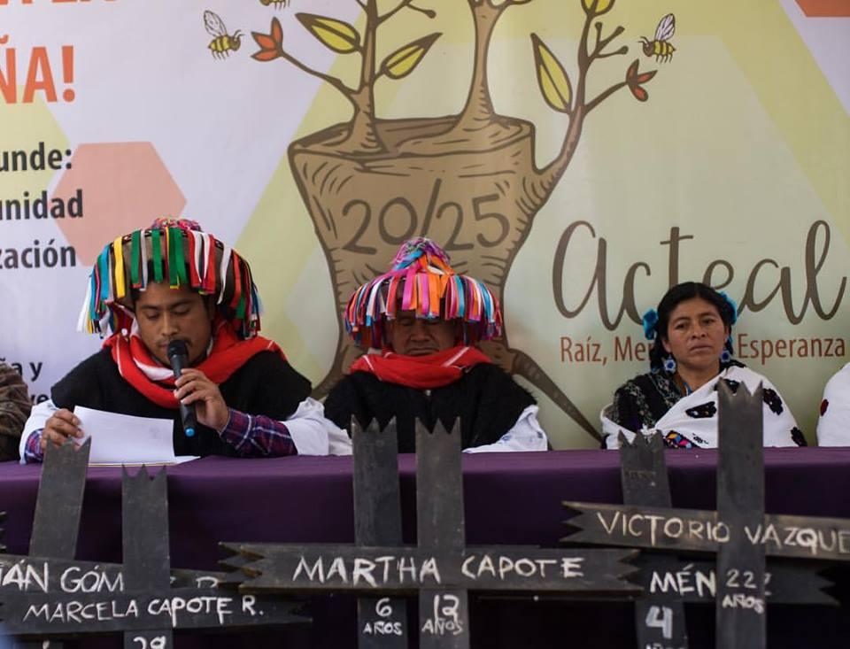 Chiapas: Partidistas prohíben tomar agua de cualquier manantial, a tsotsiles de Abejas de Acteal