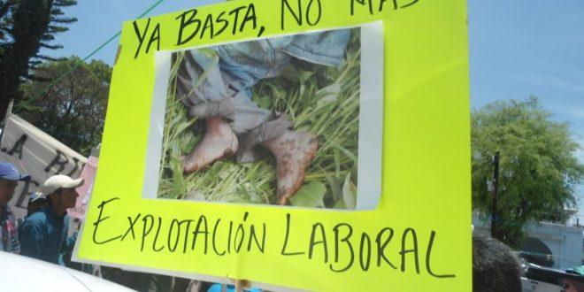 México: Denuncian agresión contra Caravana Nacional de Jornaler@s Agrícolas