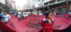 ¿Y dónde queda Ayotzinapa?, pon tu mano del lado izquierdo de tu pecho, ¿sientes los latidos?, ahí queda: Normal Mactumactzá