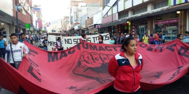 """Mactumactzá Chiapas: """"Ante la inseguridad el gobierno no hace nada, pero hoy reprimió a estudiantes"""""""