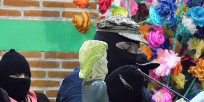 EZLN – CIDECI – DEFENSA ZAPATISTA VS TRUMP – POZOL – ABRIL 2017