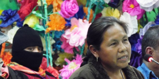 """""""El pueblo manda, no el capital nos marcará el camino"""", EZLN – CNI"""