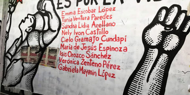 Reviven enfermeras de Chiapas huelga de hambre