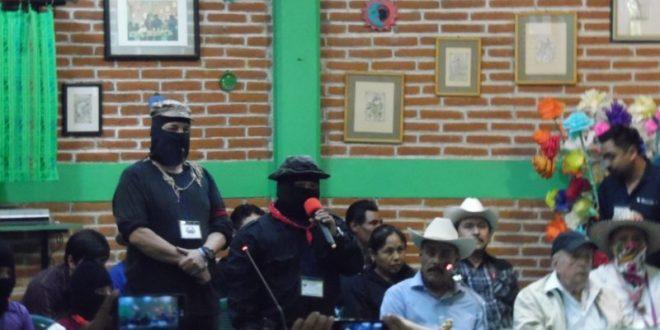 """CNI_CIG EZLN: """"ALTO A LA GUERRA NARCOPARAMILITAR CONTRA EL CIPOG-EZ"""""""