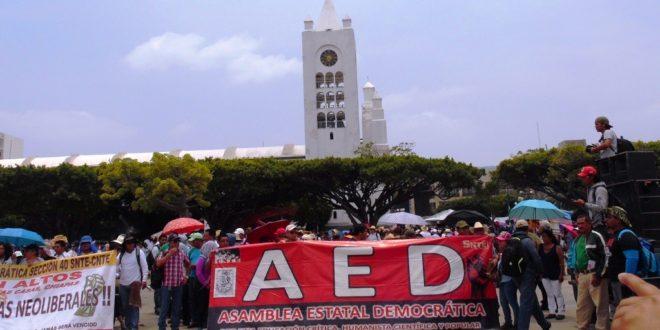 Chiapas: Anuncian maestros estatales paro de 72 hrs, ante incumplimiento de sus demandas por parte de Velasco Coello
