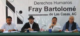 """Frayba: """"Omisión del gobierno de Escandón, genera desborde de violencia en Chiapas"""""""