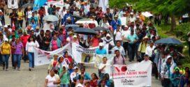 """""""Pueblos del norte de Chiapas, con la vista en detener los proyectos de muerte"""", CNI México"""
