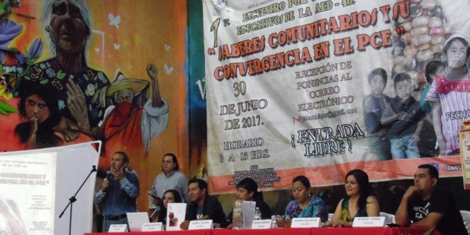 """""""No se determinó la separación del SNTE, o la creación de una nueva Sección"""", aclara AED_CNTE Chiapas"""