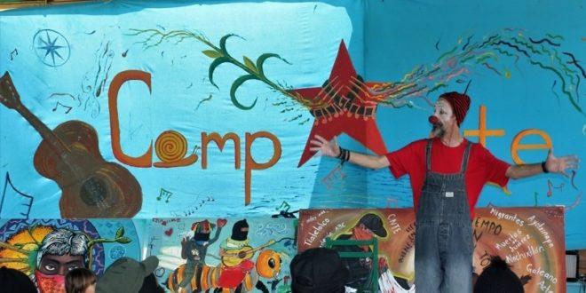 """""""Y justo, a pesar del dolor ríen"""", Festival CompArte por la Humanidad, Chiapas México"""