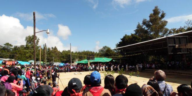 Oventic: inicia el CompArte por la humanidad en tierras zapatistas