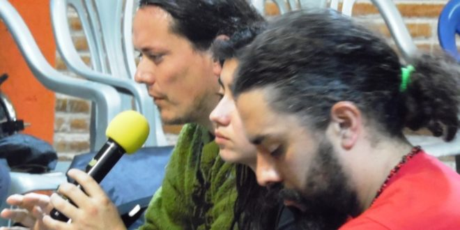 """""""La alianza Estado-mercado ya nos puso precio"""", La Legua, Santiago de Chile, en el CompArte"""