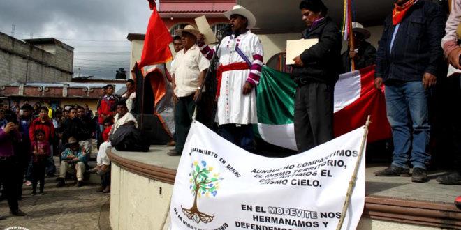 Van por usos y costumbres en Oxchuc, Chiapas
