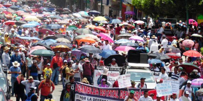 """AED-CNTE Chiapas, da a conocer el """"Calendario De la Resistencia Escolar 2018-2019"""""""