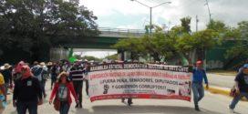 """Chiapas: """"La AED es parte de la CNTE, no está expulsada y mucho menos auto excluida"""", aclara la Asamblea Estatal Democrática"""