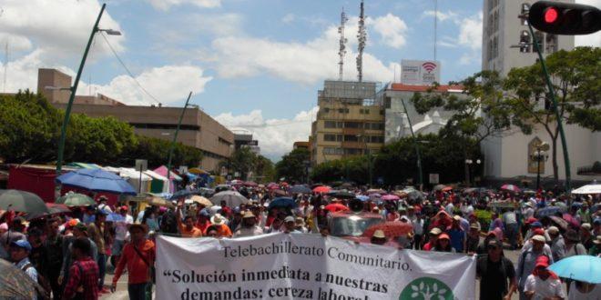 """Velasco y Eduardo Campos, máximos responsables de la problemática del Telebachillerato Comunitario, en Chiapas"""