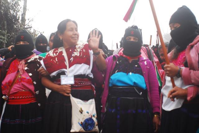"""EZLN: """"Lo que queremos es libertad, nuestra libertad, LA LIBERTAD"""", Comandanta Hortencia"""