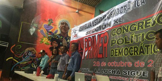 """AED Chiapas, exige el respeto a su libre expresión y derecho de réplica ante """"expulsión prefigurada"""" de la CNTE."""