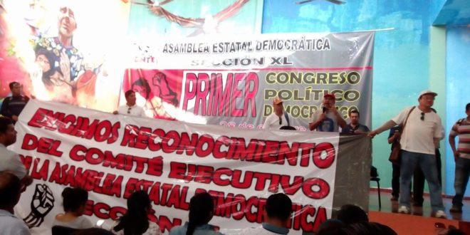 Maestr@s de la AED-CNTE Chiapas, exigen el reconocimiento de su Comité Ejecutivo Seccional