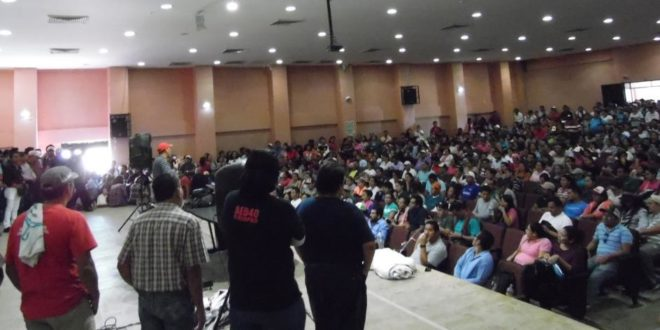 """""""Nuestros derechos como trabajadores se defienden"""", AED_CNTE Chiapas"""