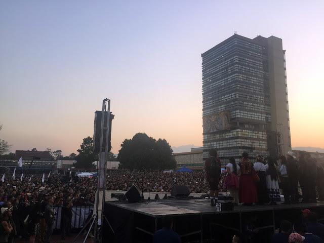 Discurso de María de Jesús Patricio Martínez, vocera del CIG-CNI en la UNAM