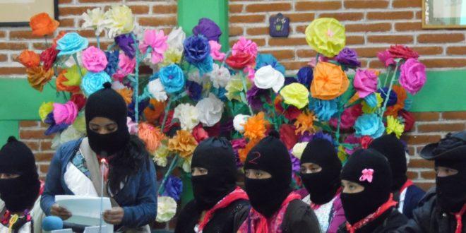 """""""Sólo importa que eres mujer y que luchas"""", convocan mujeres zapatistas a encuentro internacional"""