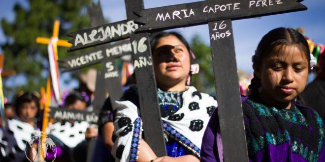 """""""Ley de Seguridad Interior, guerra de exterminio contra pueblos indígenas"""", Acteal 20 aniversario"""