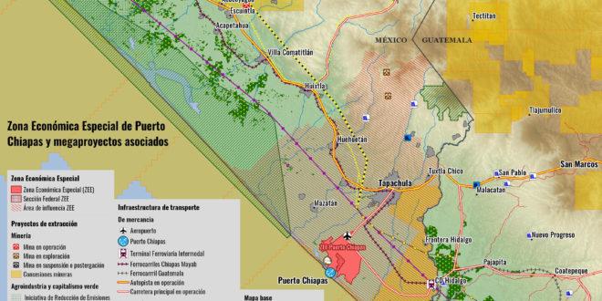 Chiapas: Zona Economica Especial implicará el despojo de tierras ejidales a campesinos para entregarlos a corporaciones transnacionales.