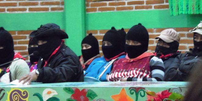 """México: """"Todo lo que está pasando demuestra que ya no hay gobierno en nuestro país"""", EZLN 24 aniversario"""