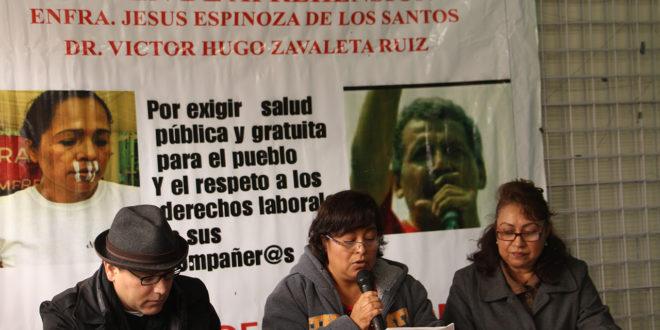 """""""Crisis de salud vulnera el derecho humano de chiapanecos"""", denuncian enfermeras ante robo y desvío de recursos"""
