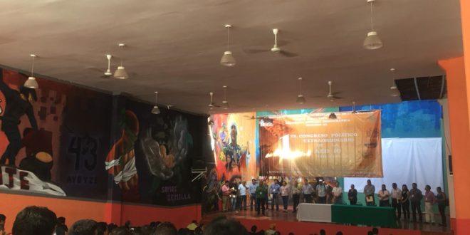 AED Chiapas, fortalece su organización, a partir de los principios de la CNTE.