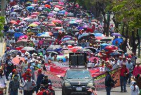 """AED_CNTE Chiapas: """"no podemos seguir soportando tantas arbitrariedades, corrupción y malos manejos de la Educación en nuestro estado"""""""