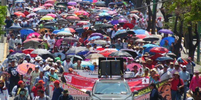 AED-CNTE Chiapas: a paro maestr@s de la Asamblea Estatal Trilateral