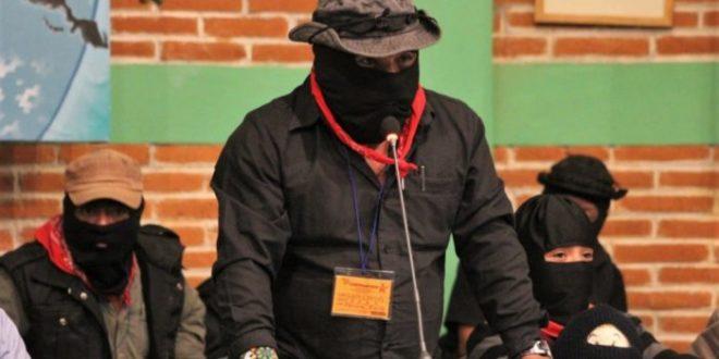 """Desmiente el EZLN, contacto alguno con AMLO. """"SEGUIREMOS EN LO QUE ESTAMOS DESDE HACE YA CASI 25 AÑOS"""", asegura."""