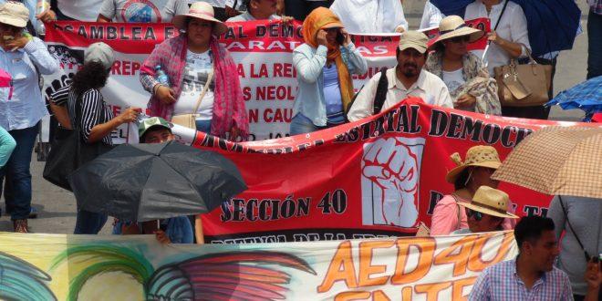 AED_CNTE, Región Palenque, denuncia escuelas con necesidades de personal docente, administrativo, de construcción y mobiliario