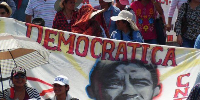 """AED CNTE Chiapas: """"¡Jamás nos rendiremos, ni aceptaremos la privatización de la educación pública!"""""""