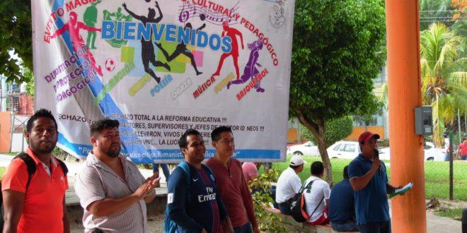 """""""Unión y organización"""", encuentro deportivo y cultural AED CNTE Chiapas"""