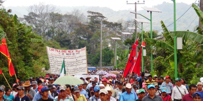 Ejido Tila Chiapas, denuncia la formación de paramilitares para imponer votaciones